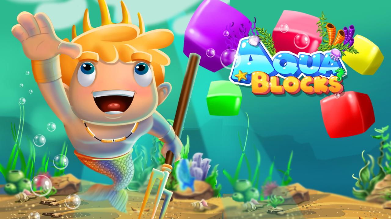 Image Aqua Blocks